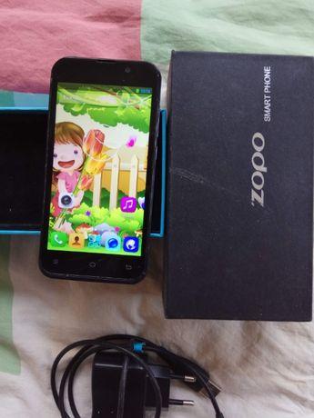 В хорошем состоянии смартфон Zopo ZP700 - комплект, 2 батареи