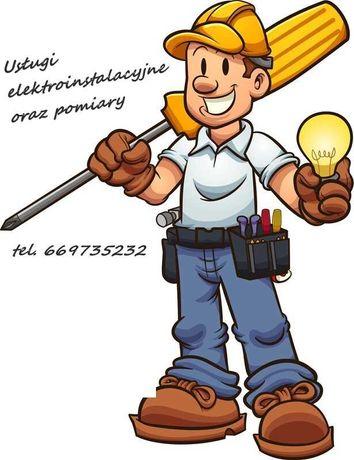 Elektryk - usługi elektroinstalacyjne i pomiary