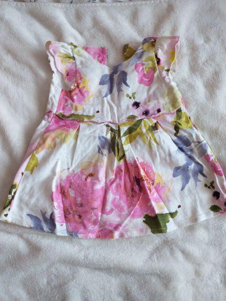 sukienka reserved 80 elegancka krótki rękaw