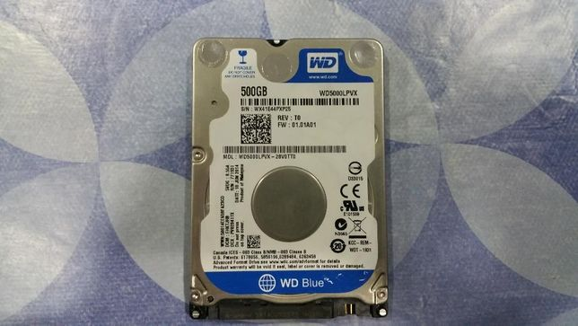 Disco rigido WD como novo 500Gb