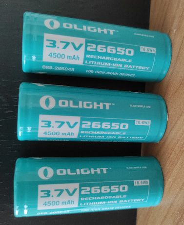 Akumulator Olight 26650 3.7V 4500mAh Li-ion