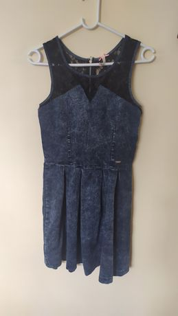 Sukienka a'la jeans