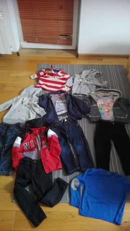Zestaw ubrań paka dla chłopaka r. 104