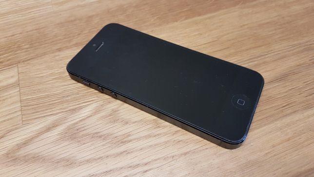 APPLE IPHONE 5 S5 Space Gray bez ICLOUD stan Idealny nie włacza się