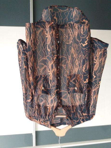 Granatowa koszula