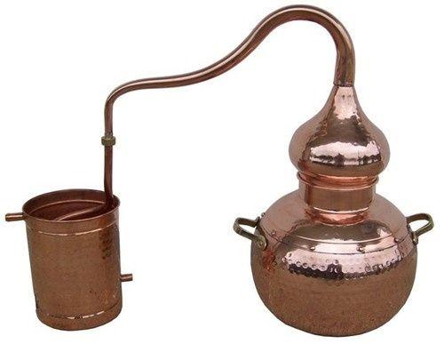 Alambique 10Litros em cobre