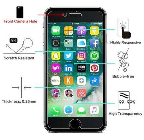 Vidro Temperado Para iPhone 6 S