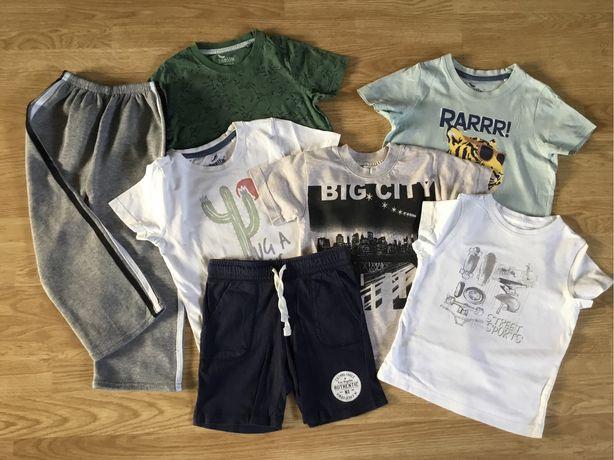Koszulki i spodenki rozm.104-110