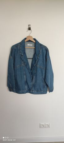 38/M Reserved 36/S kurtka jeansowa denim jacket vintage oversize