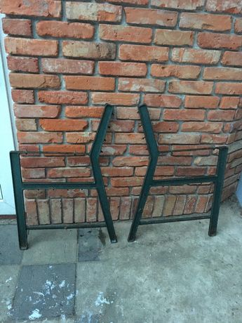 Nogi żeliwne metalowe do ławki
