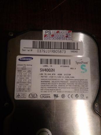 """Dysk 3,5"""" 40GB IDE/ATA - SAMSUNG SV4002H"""