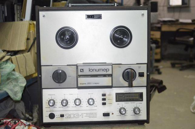 Бобинный магнитофон Юпитер 203-1