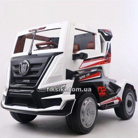 Детский электромобиль T-7315 EVA WHITE, Дитячий електромобiль