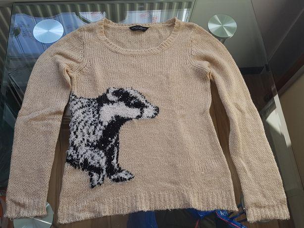 Wełniany sweter Dorothy Perkins rozm. Euro-38 / UK- 10