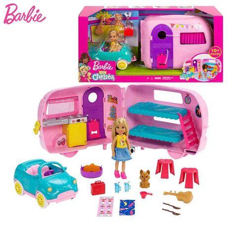 набор Барби клуб Челси кемпер трейлер фургон Barbie club Chelsea