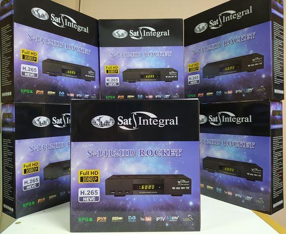 Спутниковый DVB-S/S2 Full HD Mpeg4 ресивер Sat-Integral S1412 HD Rocke