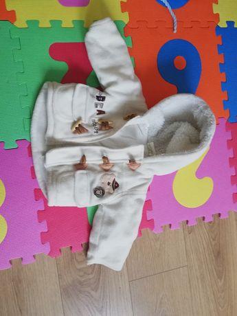 Płaszczyk/kurteczka zimowa dla dziecka rozm 6-12 msc