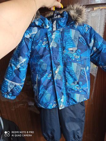 Зимний комплект (куртка и полукомбинезон) Lenne 80+6 см