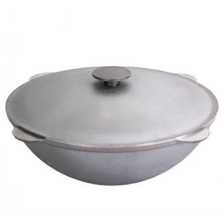 Казан татарский алюминиевый с крышкой БИОЛ (4-40 литров)