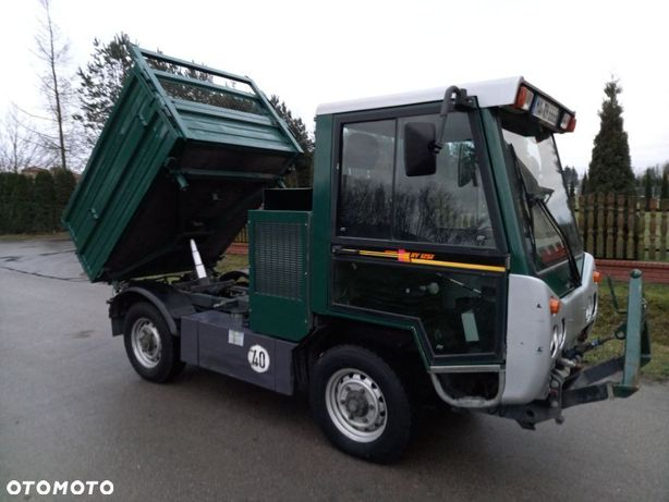Multicar HY 1251 / Bucher  2.8 diesel 2004rok/unimog/kiper 3 strony/4x4/każda z osi jest skrętna