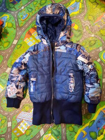 Курточка темно синій колір, від 1 рочку