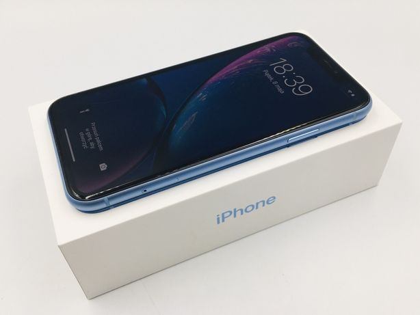 PROMOCJA • iPhone XR 128GB Blue • GWAR 1 MSC • AppleCentrum