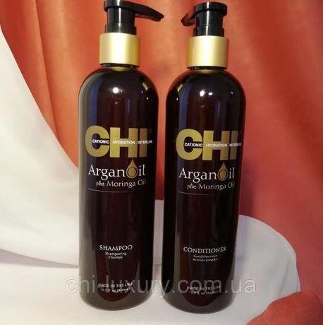 Набор Chi Argan Oil ⟹ шампунь 340 мл+ кондиционер 340 мл Оригинал