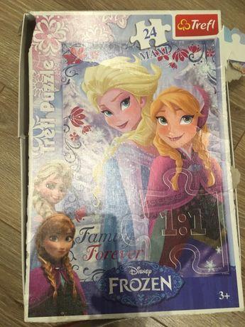 Puzzle maxi 24 frozen