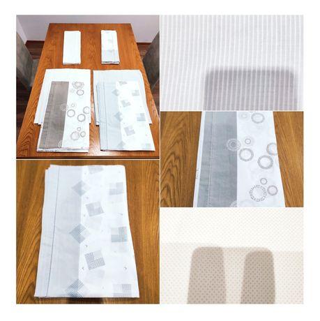 2 - Conjuntos de lençóis de Verão para cama de casal...