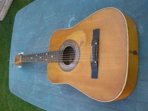 gitara akustyczna Defil duża struny stalowe