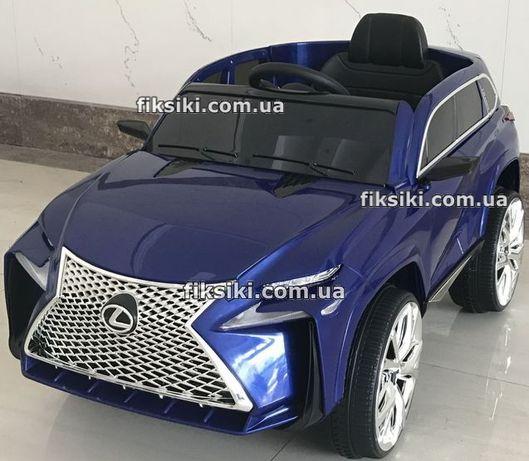 Детский электромобиль M 3584 синий Lexus, Дитячий електромобiль