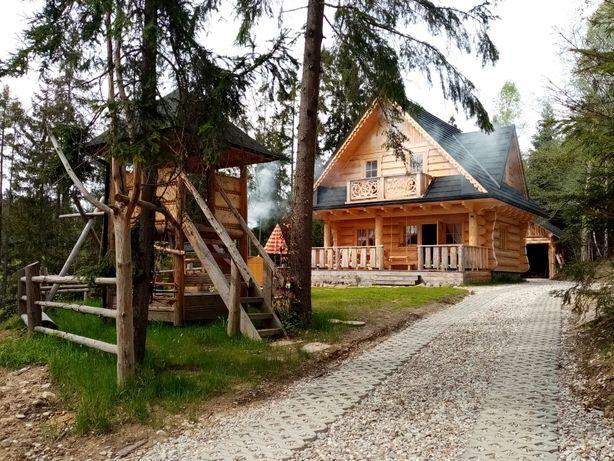 Bacowka w lesie domek w gorach Zakopane i okolice nocleg Wolne terminy