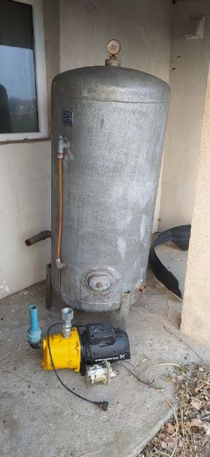 Zestaw hydroforowy 300 l (zbiornik+pompa+wyłącznik ciśnieniowy)