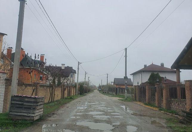 Ділянка на ВЕРЕСАЯ 10 соток 500 метрів Київський шлях