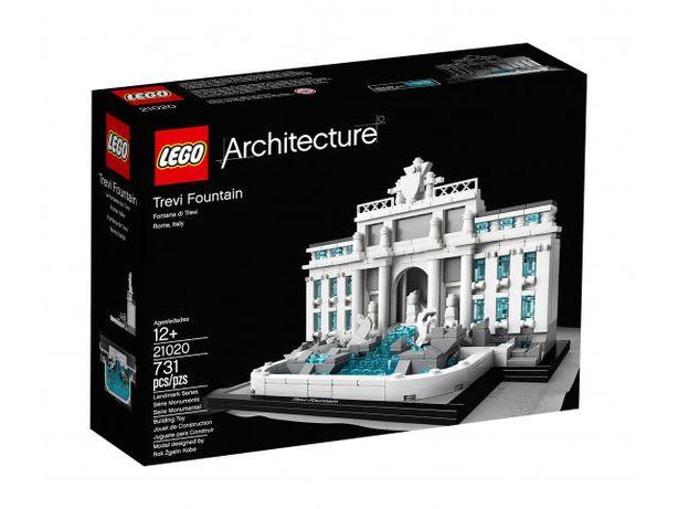 LEGO ARCHITECTURE 21020 Fontanna di Trevi Nowe