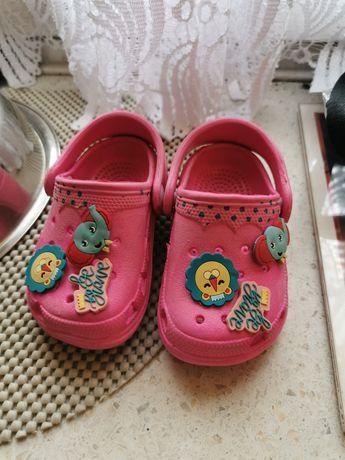 Crocsy sandały klapki na basen, plażę, morze, do wody Fisher Price 20