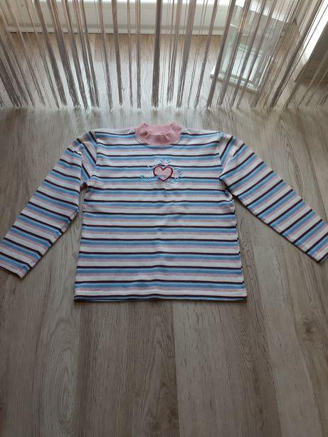 Dziewczęca bluzka z długim rękawem