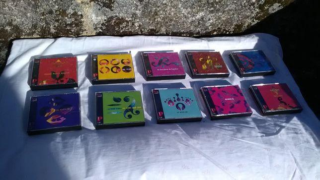Coleção de CDs edição do jornal Público 50 anos de música