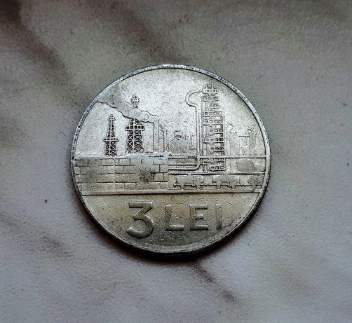 70) RUMUNIA - 3 Leje - 1963 r.