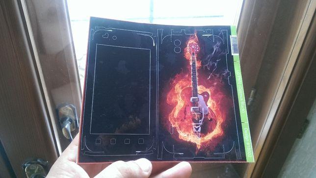 Продам наклейку на LG P970 optimus black