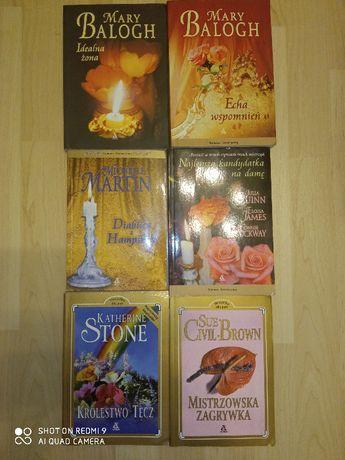 Sprzedam książki wydawnictwa Amber romans historyczny