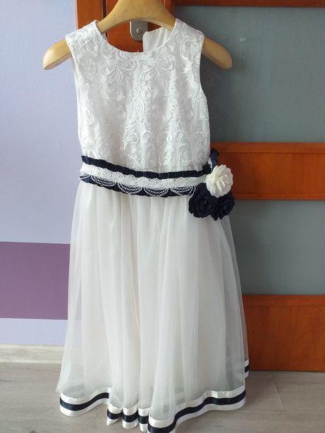 Sukienka 140 plus opaska