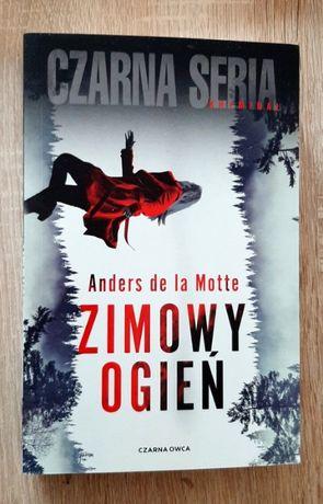 Anders de la Motte Zimowy Ogień - nowa książka