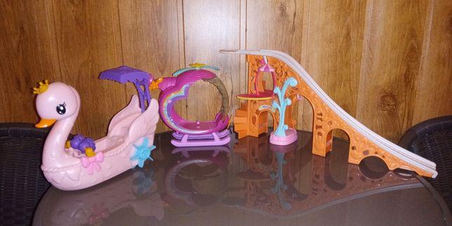 My Little Pony - zestaw Kaczuszka, Helikopter i zjeżdżalnia