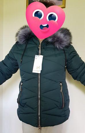 Kurtka zimowa ciepła kobieca