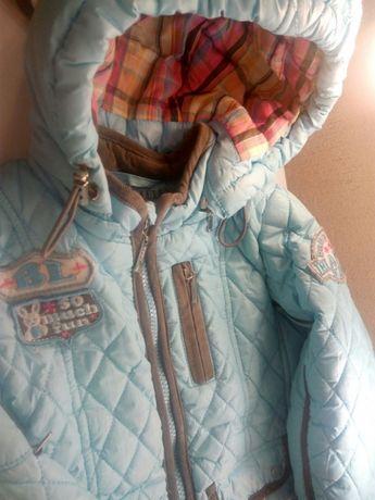 Комбинезон зимний весенний костюм девочка