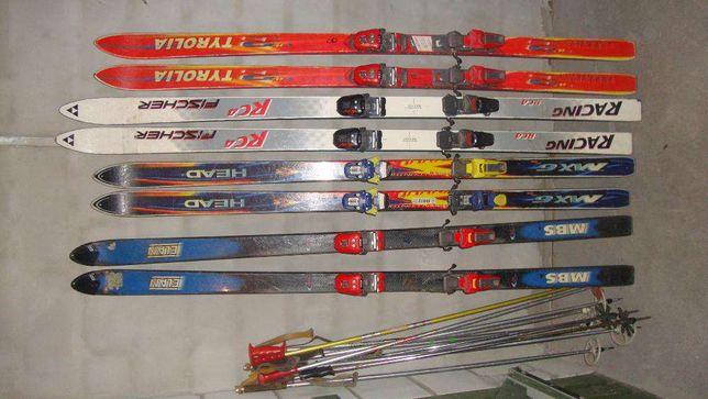 sprzedam lub zamienie narty