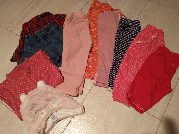 Leginsy spodnie dla dziewczynki 86/92