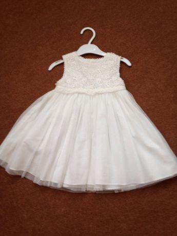 Платье на годик mamas &a papas 12-18 m