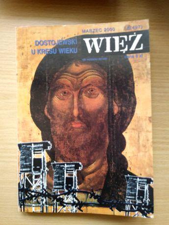 Więź marzec 2000 (Dostojewski - temat numeru)